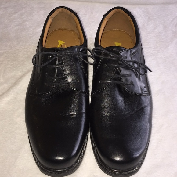 French Shriner Shoes | Mens Black Dress